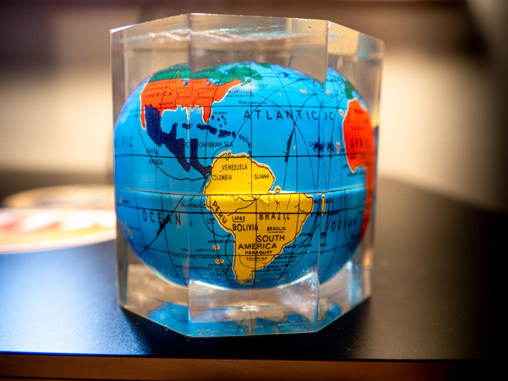 An old globe!