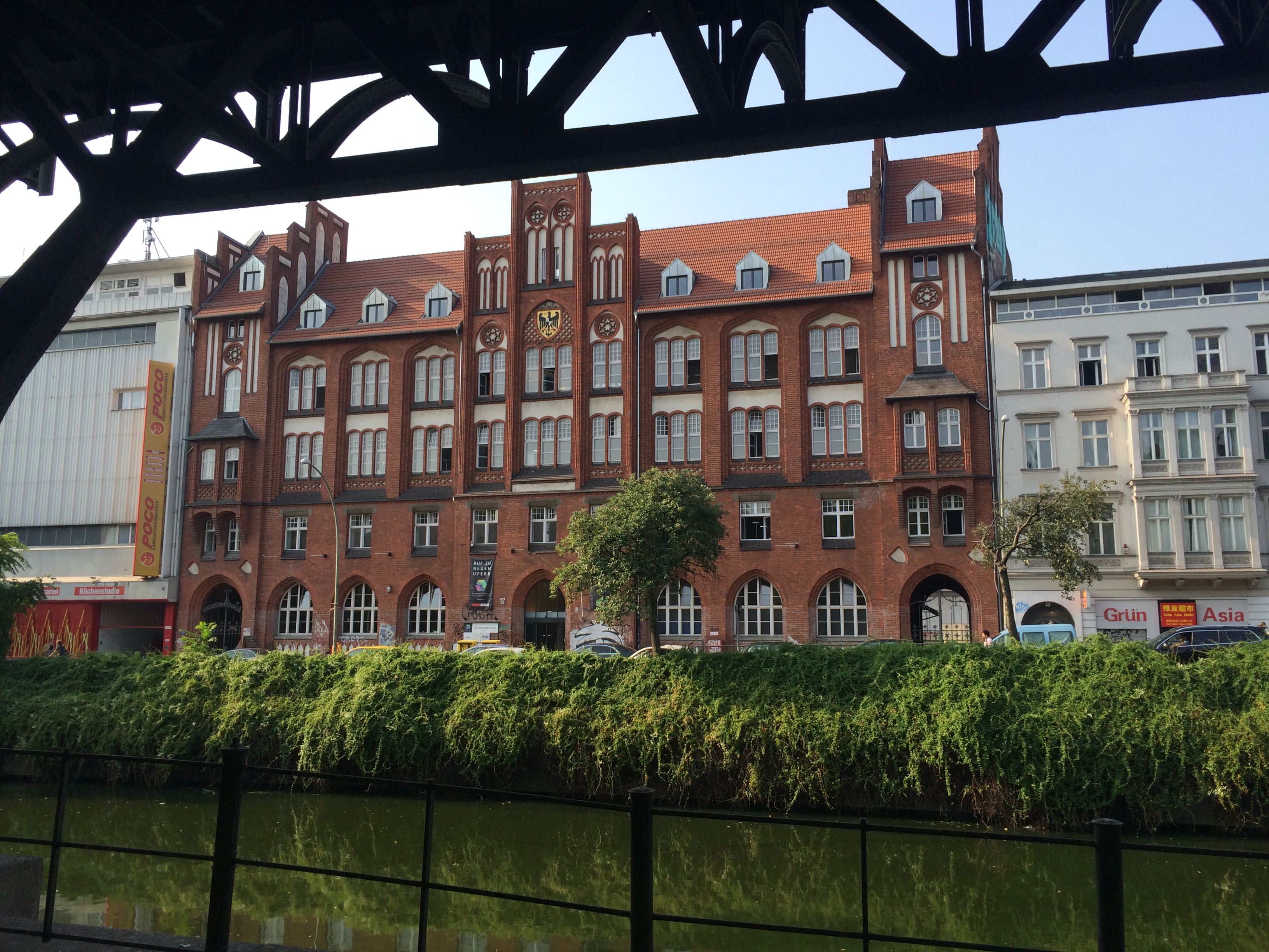 The view from one of the U-Bahn stations near where I was staying