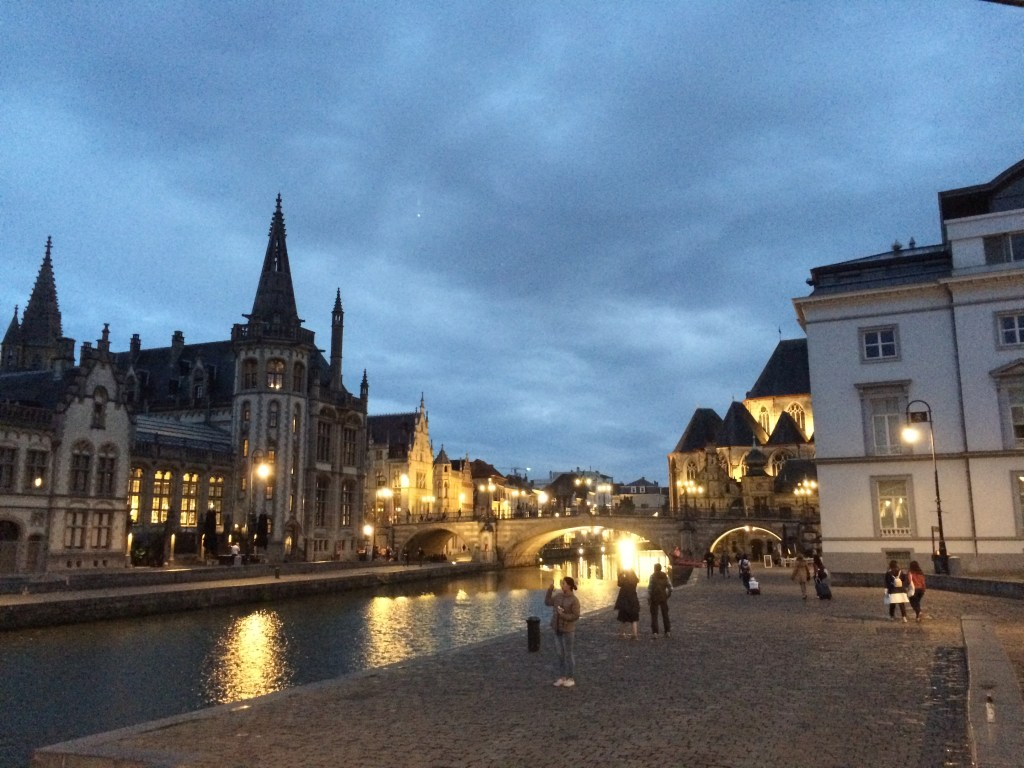 Ghent in the early evening