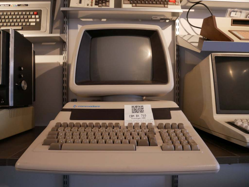 A prototype of a follow-up to the Commodore PET, unreleased due to problems with some of the boards.