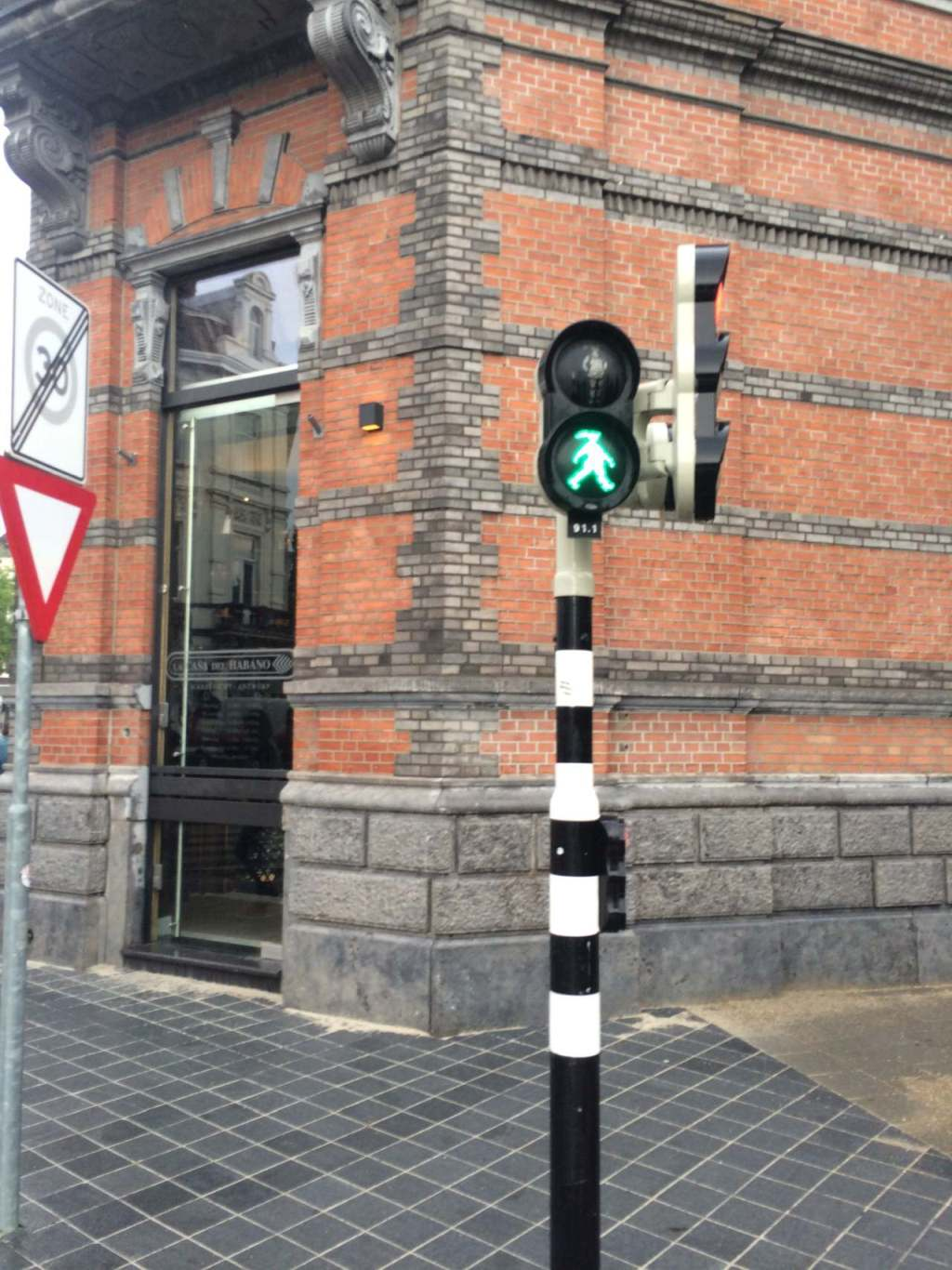 The city also boasts a single walk sign designed to look like a woman. I'm pretty sure that this single-handedly solved gender-based inequality.