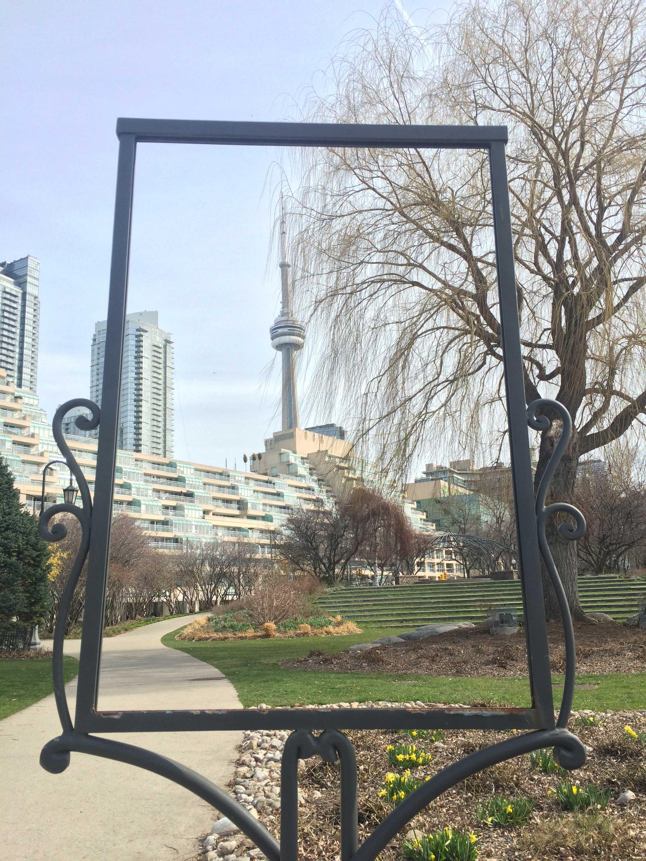 Toronto's landmark CN Tower.