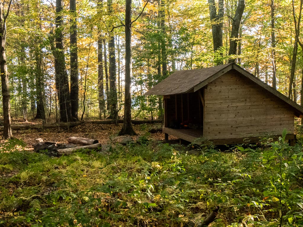 The lean-to shelter of my dreams
