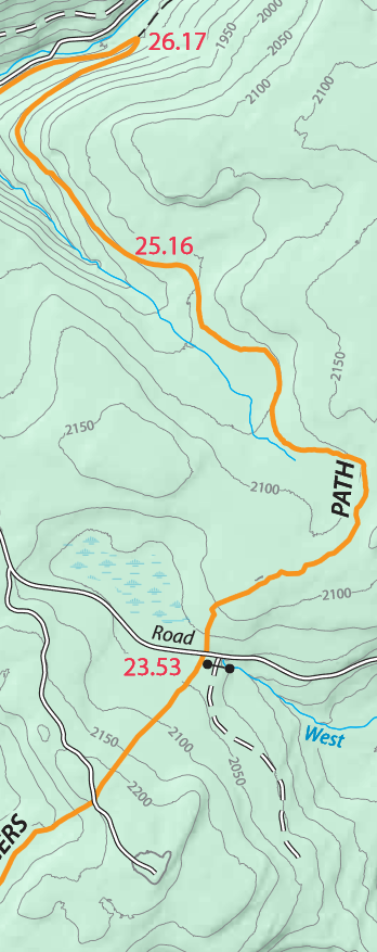 map of my final descent